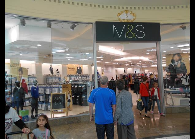 Marks & Spencer has opened its first standalone Back to School shop, in Manchester's Trafford Centre.